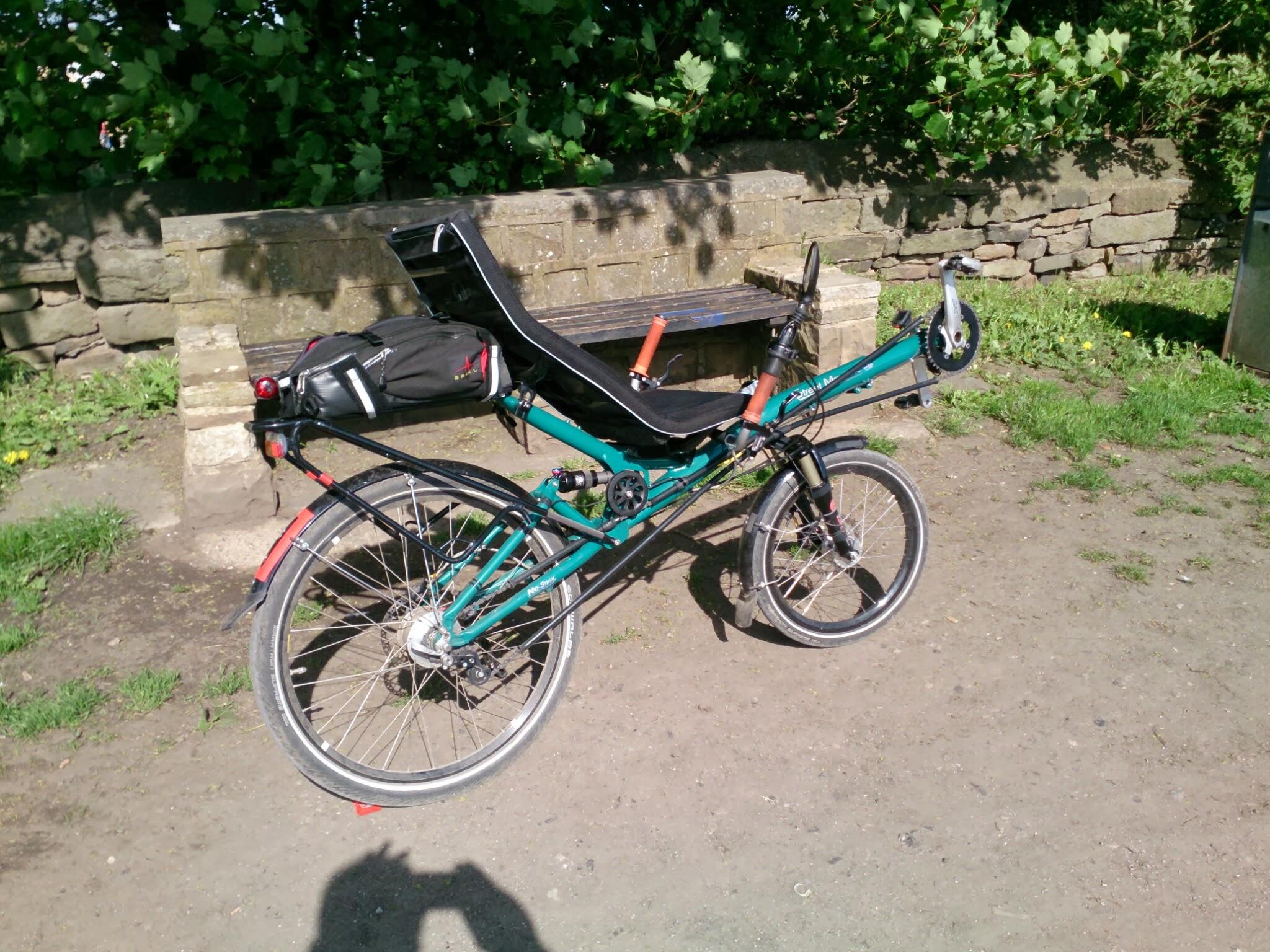 photos of bike build